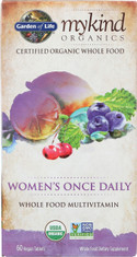 Mykind Organics Women Once Daily 60 Organic Tablets