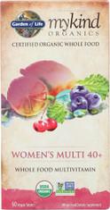 Mykind Organics Women's 40+ Multi 60 Organic Tablets