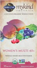 Mykind Organics Women's 40+ Multi 120 Organic Tablets