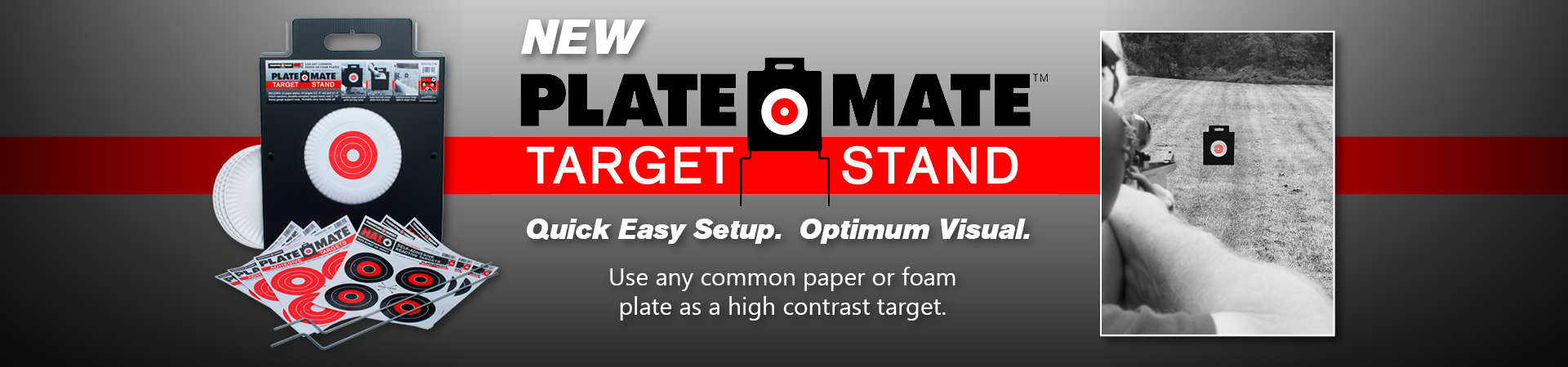 Plate-Mate Outdoor Target Shooting Stand by Thompson