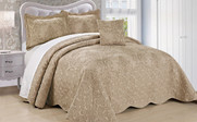 Incense Damask Embroidered Bedspread Collection