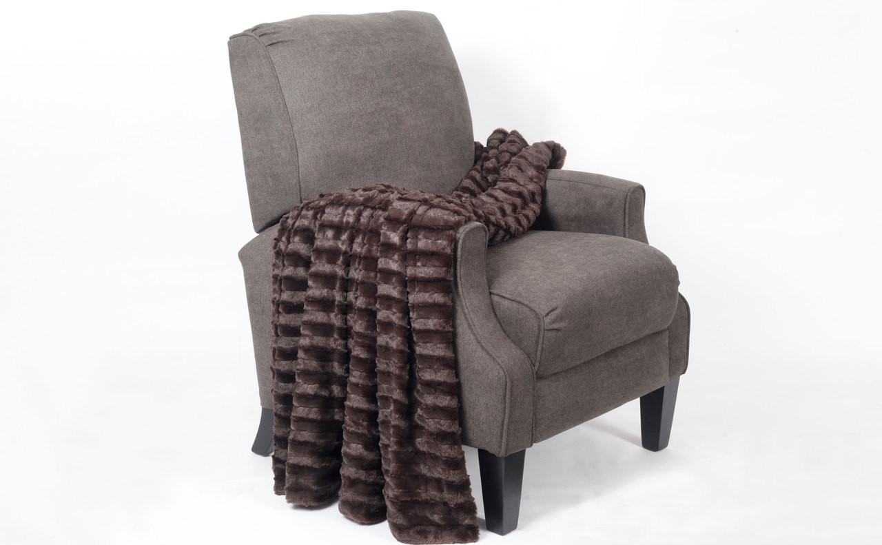 Derby Jumbo Over Sized Double Sided Faux Fur Throw