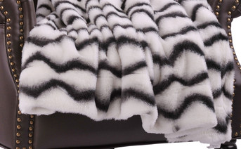 Irene Faux Fur and Sherpa Throw