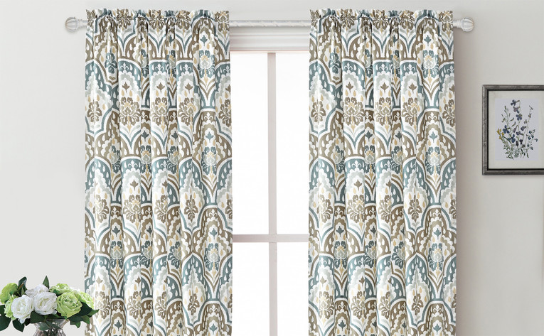 Tivoli IKAT Curtain Set