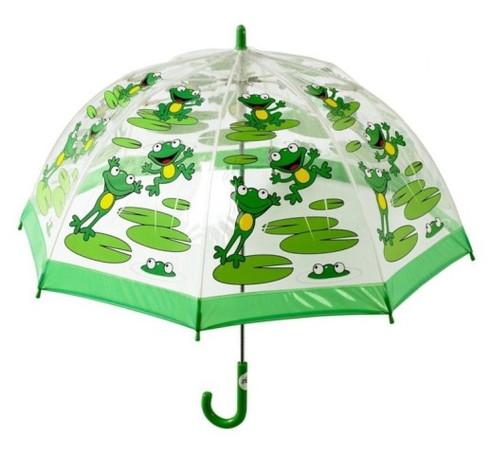 Child's Frog Umbrella Front