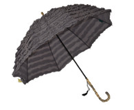 Fifi Charcoal Umbrella Side