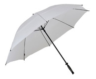 White Vented Golf Umbrella Side