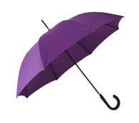 Lotus Purple Umbrella Side