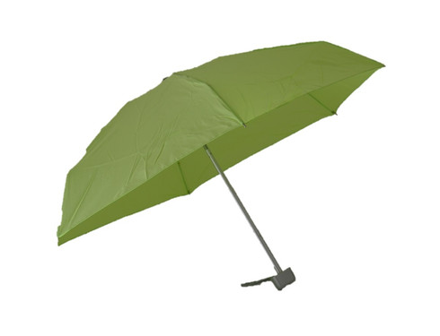 Compact Lime Umbrella Side