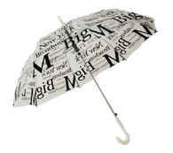 New York Clear Umbrella Side