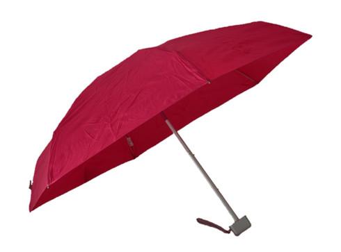 Compact Fuschia Pink Umbrella Side