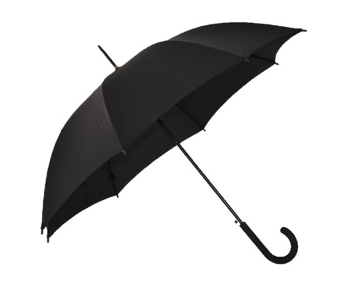 Black UPF Umbrella Side