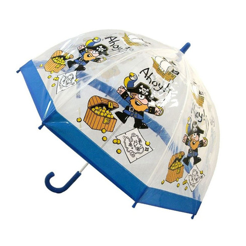 Child Clear Pirate Umbrella