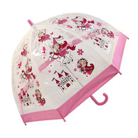 Child Clear Princess Umbrella