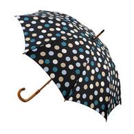 Classic Charcoal With Polka Dots Umbrella