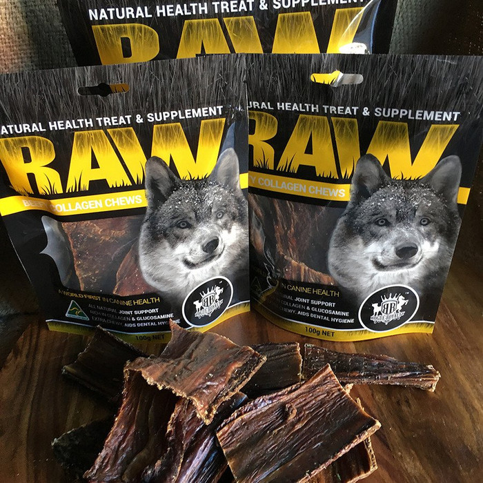 R.A.W Dried Beefy Collagen Chews