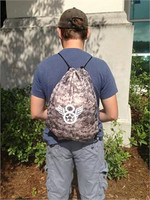 Tan Camo Backpack