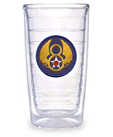 Tervis Tumbler 24oz. Mighty 8th Logo