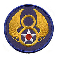8th Air Force Shoulder Patch