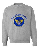 Mighty 8th Grey Sweatshirt