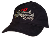 P-38 Embroidered Hat