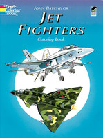 Jet Fighters Coloring Book
