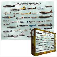 World War II Aircraft Jigsaw Puzzle - 1000 Pieces