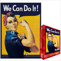 Rosie the Riveter We Can Do It! Jigsaw Puzzle - 1000 Pieces