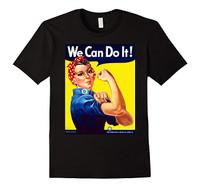 Rosie the Riveter T-Shirt Black