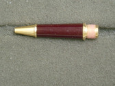 MONTBLANC 165 ROLLER BALL SECTION BORDEAUX WITH GOLD TRIM