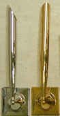 SHEAFFER STICK ON SOCKET GOLD PLATE