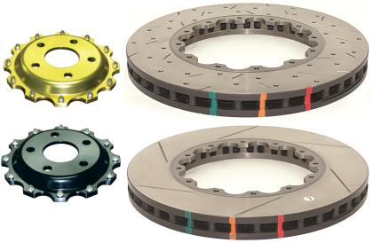 DBA 05-09 Corvette Z06 Front Slotted 5000 Series Replacement Rotor 52992.1S