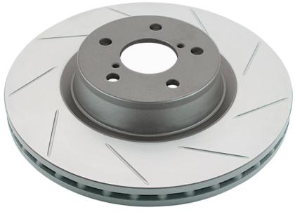 DBA 05-06 Corvette C6 w/Z06 pkg Front Drilled & Slotted Street Series Rotor 2992X