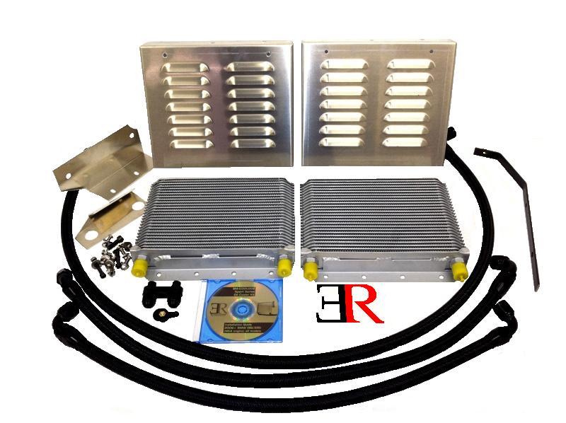 Evolution Racewerks Competition Series Oil Cooler Kit for BMW 135i / 335i N54 / N55