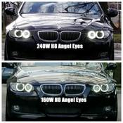HPB 240 Watt Total Output H8 BMW Cree LED Angel Eye Upgrade BMW E90 / E92 / E82 *Free Shipping*