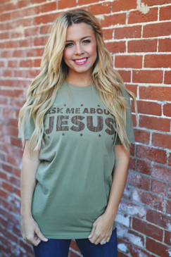 NEW! ASK ME ABOUT JESUS