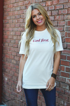 NEW! GOD FIRST