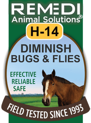 Diminish Bugs & Flies, H-14