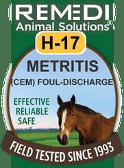 Metritis: (CEM) Foul Discharge, H-17