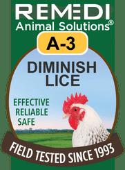 Diminish Lice, A-3