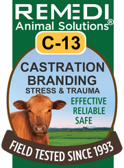 Castration, Branding, Stress & Trauma, C-13