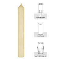 1-1/2 X 17-1/2, 51% Beeswax Altar Candle[Box of 6]