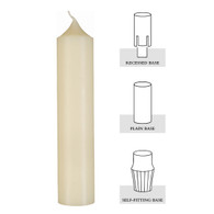 1 X 12-1/2, 100% Beeswax Altar Candle [Box of 24]