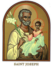 Saint Joseph Icon Decal