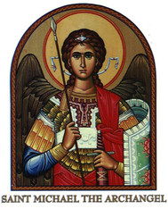 Saint Michael Icon Decal