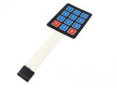 3*4 Membrane Keypad
