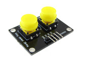 2 Channel Pushbutton Breakout - Yellow Cap