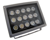15LED Power LED White Light For night verison camera security 60D 12VDC