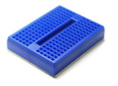 Mini Self-Adhesive Breadboard - Blue