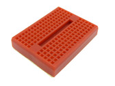 Mini Solderless Prototype Breadboard Color: Red